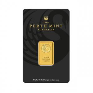 Sztabka złota 10g Perth Mint