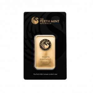 Sztabka złota 1 uncja Perth Mint