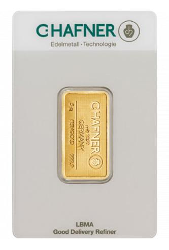 Sztabka złota LBMA 5g