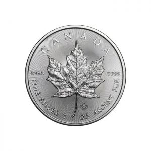 Maple Leaf 100 uncji srebra