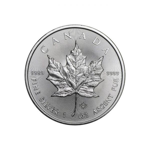 Liść Klonu srebrna moneta