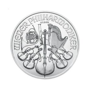 Wiener Philharmoniker 100 uncji srebra