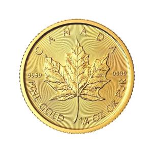 Maple Leaf 1/4 uncji złota