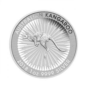 Australian Kangaroo 100 uncji srebra