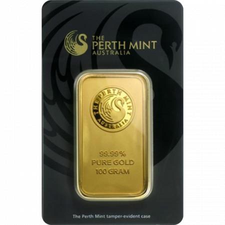 Sztabka złota LBMA 100g