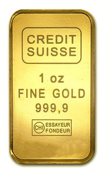 Sztabka złota 1 uncja