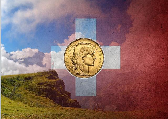 Ile złota posiadają Szwajcarzy?