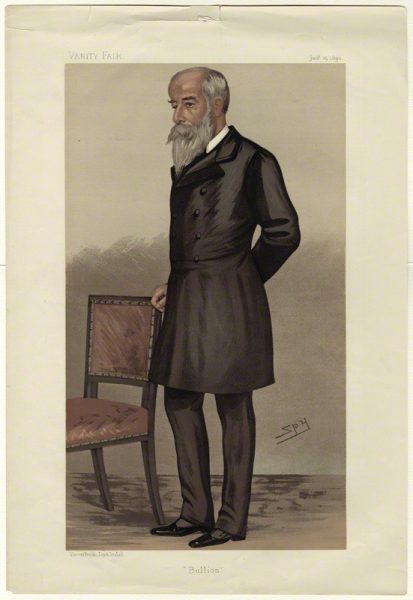 By Sir Leslie Ward, chromolithograph, published 25 January 1890