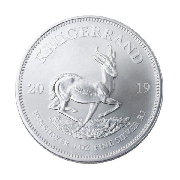 wyjątkowy srebrny krugerrand