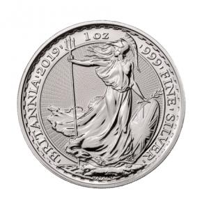 Brittania srebrna moneta 100 uncji