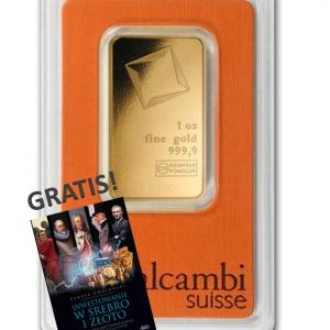 Sztabka złota 1 uncja x 10 LBMA